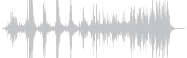 Visualization of sound spectogram of rolling lid