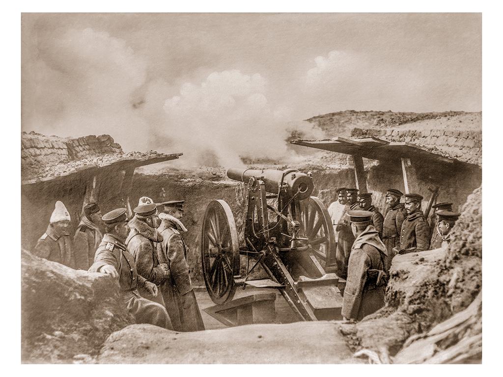 Българско укрепление, 1912 г. ©Георг Волц