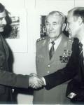 Втора самостоятелна изложба – поздравления от първия български космонавт.